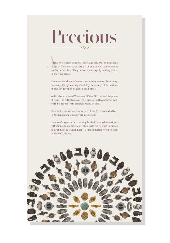 Alex McIntosh - Graphic Designer - Exhibition Designs - Precious